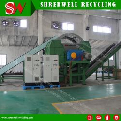 La gomma brandnew ricicla la pianta per tagliuzzare il pneumatico residuo di OTR/Truck