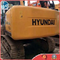 22ton 남한사람에게서 본래 사용된 Hyundai 크롤러 굴착기 가져오기