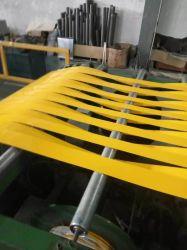 Mill fini en aluminium recouvert de couleur le laminage à chaud Fin Strip pour condenseur
