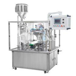 Flüssige Cup-Plombe der Füllmaschine-K und Dichtungs-Maschine