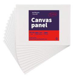30*40 Panneau de toile de coton blanc pour la peinture le linge de maison d'administration et de la peinture acrylique l'approvisionnement