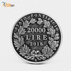 Pièces commémoratives Custom-Made spécialisé avec son design exquis de 999 fleurs et de croquis