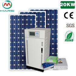 سعر رخيص وجودة جيدة 10 كيلو واط طاقة شمسية 20 كيلو واط نظام اللوحة لمجموعة النظام الشمسي المنزلي لمكيف الهواء