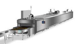 La Cocción automática de acero inoxidable la pizza de la Cinta Transportadora de Gas Horno Túnel fabricante