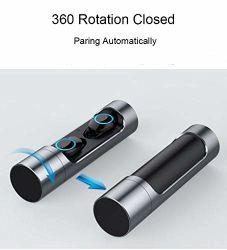 Heißer Verkauf paart doppelten Tws drahtlosen Bluetooth Kopfhörer-Paar-Kopfhörer mit USB für die Aufladung