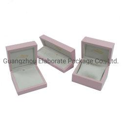 斜角の木のギフトのパッキング木製の包装の宝石箱