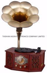 Klassieke Radio van de Speler van de Muziek van de luxe de Houten