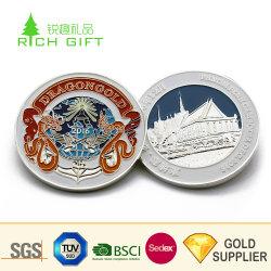 China Custom AG 999 monedas de plata pura grabado antiguo chapados en oro 24K dólares antiguos Bullion Morgan Panda embellecedor blanco American Eagle 925 monedas de plata esterlina 1oz.