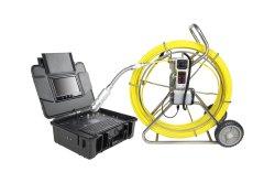 Wopson 120m de la sécurité PTZ portable appareil photo d'égout d'inspection Push