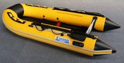 330cm piso de madeira compensada de PVC/alumínio/piso piso de madeira/Ar Pesca Insuflável Deck Pontoon Bote Barco de concurso