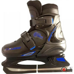 Наиболее популярные Impactive сопротивление пластиковый корпус регулируемая размеры льда коньки обувь для детей