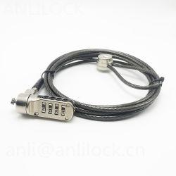 Password digitale Cambination computer Lock cavo di sicurezza Password digitale Blocco del computer portatile