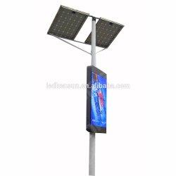 Для использования вне помещений 3G/4G/управление WiFi уличных рекламных лампа полюс светодиодный дисплей