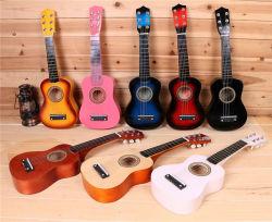 precio de fábrica el 6 de 21 pulgadas de madera de la cadena de Guitarra Acústica