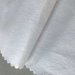 De PP Nonwoven Fabric respirável laminado película PE de batas Médicas Robes de protecção