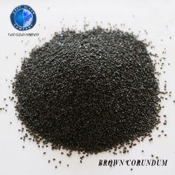 Sabbie di brillamento di sabbiatura della granulosità del corindone di prezzi abrasive ed allumina fusa Brown di alluminio refrattaria Al2O3 dell'ossido 95%
