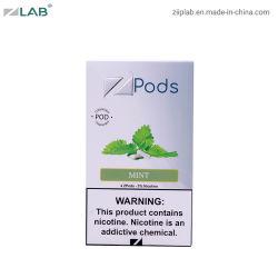 eine ursprüngliches hochwertiges Rauch-Öl nachfüllbare Vape Flüssigkeit des Satz-vier mit Minic$e-zigarette Soem-Hülsen