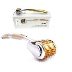 Zgts Derma Roller Titanium 192 pinos para tratamento de perda de cabelo