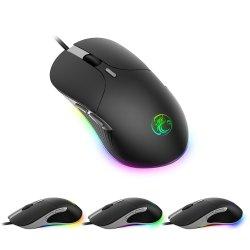 Il più bene mouse programmabile del calcolatore di gioco di RGB di a buon mercato 6 tasti