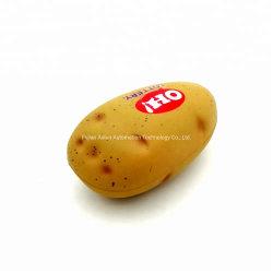 Heiße Verkaufs-Kartoffel-Form PU-Druck-Großhandelskugel, Kartoffel-Antidruck-Kugel-Spielwaren