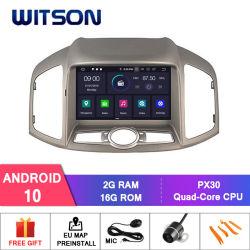 Chevrolet 새로운 Captiva 2012년 Bluetooth OBD2 연결을%s Witson 쿼드 코어 인조 인간 10 차 DVD GPS