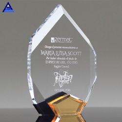 Форма Красный Сапфир арбитражного решения для корпоративных подарков трофей алмазов Crystal Clear