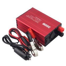 المحول الكهربي للسيارة الصغيرة شحن لوحة الهاتف DC12 فولت تيار مستمر باللون الأسود محول محول عامل بالطاقة للحماية للسيارة