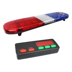 특별한 렌즈에 있는 빨강과 파란 LED 경찰 Lightbar