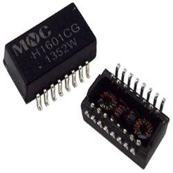 الصين Free SMT شبكة LAN Transformer Tg1g-S032nyrl Pulse المحولات