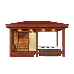 Mexda Gazebo Producten gecombineerd met Sauna doucheruimte Outdoor SPA Voor Garden WS-Lt14