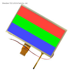 Tcc Shenzhen 1024X600 LCD RGB Interface 50 Spelden 10.1 van het Scherm van de Aanraking de Vertoning van de Duim TFT met Rtp
