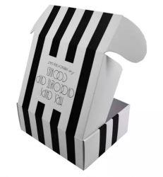 Customized 3/5 Layers Plain White Kraft 골판지 Carton Shipping 맞춤형 로고가 있는 하드 포장 상자