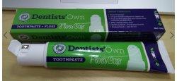 Formulación básica contra las caries de pasta de dientes con hilo dental
