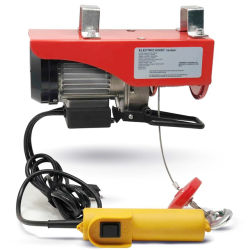 Ce Mini L palan électrique 200kg 600 kg 400 kg 600 kg 800 kg 1200 kg / bâtiment utilisé Mini palan électrique 110V de la Chine usine