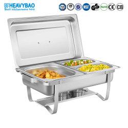 Der Heavybao Edelstahl-Scheuerteller, der nie ökonomisch u. bequem ist, kochen über oder brennen Nahrung