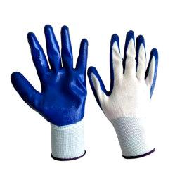 Электрический провод фиолетового цвета с покрытием Перчатки рабочие перчатки в Гуанчжоу