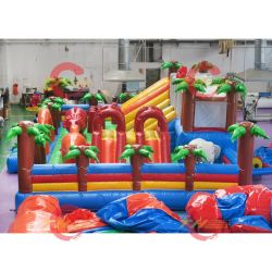 Cuscino gonfiabile gonfiabile per adulti, cuscino di salto con teloni in PVC, cuscino d'aria commerciale