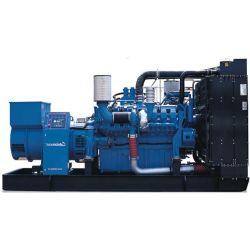 Generador de potencia industrial con motor Diesel marca de la MTU