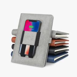 Organizer met Multi-Functions en Wireless Charger Notebook Customize-logo