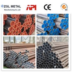 La norma ASTM A106 A53 Gra/Grb/ A179, A192 gruesa pared de carbono de pared delgada/tubo de acero sin costura/tubo galvanizado para equipos de intercambio de calor o de la caldera