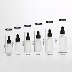 Пустой Lip gloss трубки матового стекла желтого цвета Dropper Ароматерапия жидкость для основных массажное масло Pipette бутылочки многоразового использования