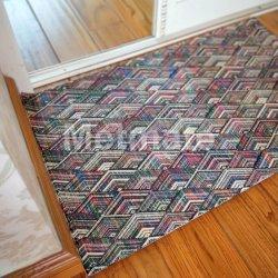 Eleganter Haupttextilinnenwohnzimmer-Fußboden-moderner Plastik gesponnene Teppich-Matte