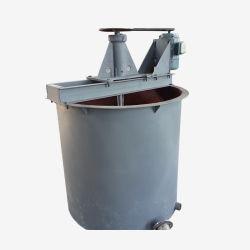採掘用鉱物混合の容易な溶出タンク撹拌