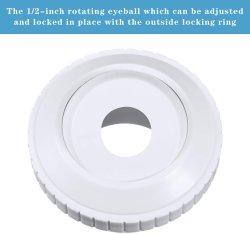 プール安い PVC マルチフローリターンインレットフィッティングアクセサリ