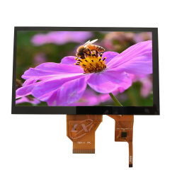 7inch 800*480 TN LCD Fingerspitzentablett des Zoll TFT LCD der Bildschirmanzeige 7 mit RGB-Schnittstelle G+G Zelle