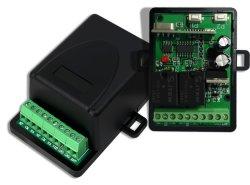 자동적인 2개의 채널 통신로 RF 전송기 수신기