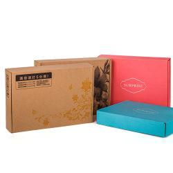 Lieferant Custom Logo Umweltfreundliche Brown Kraftpapier Paket Post Versandkarton Verpackung