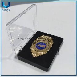 China Metal Crafts manufaterer para la insignia de metal de la policía, fábrica al por mayor 3D militar/policía Premio de la medalla de moneda de la insignia para regalos de recuerdo