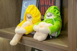 Популярные смешные банан мужчина с худи мягкие игрушки для украшения