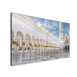 Qualidade elevada 55 Polegadas moldura estreita não TV LCD na parede de vídeo Monitor LCD Controller